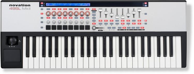 Keyboard Controller: Die besten MIDI Keyboards mit Potis, Pads & Fadern unter 400 Euro - Novation Remote 49 SL MkII