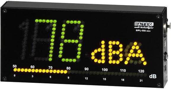 Must-haves für angehende Toningenieure - Schalldruckmesser - Dateq SPL-D2MKII