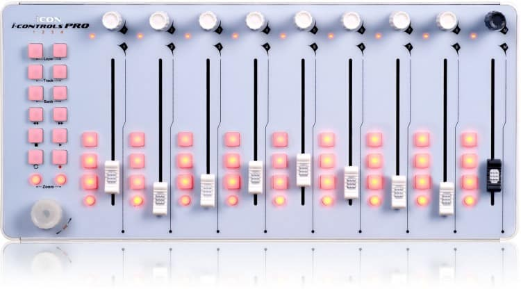 Must-haves für angehende Toningenieure - DAW-Controller - iCon iControls Pro
