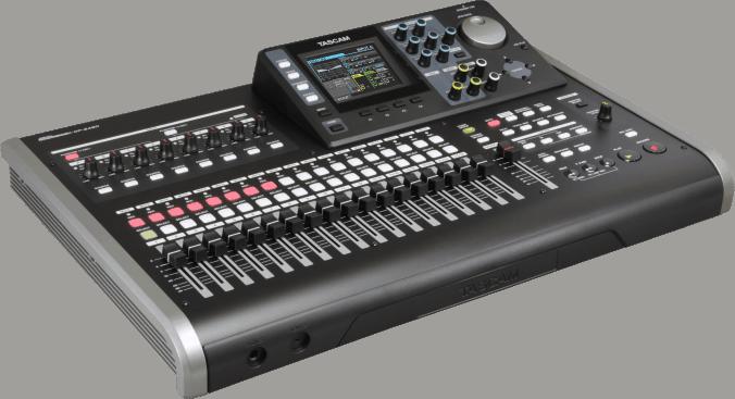Must-haves für angehende Toningenieure - Studio für unterwegs - Tascam Portastudio DP-24SD