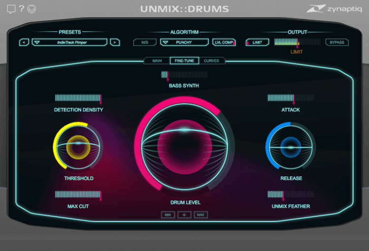 zynaptiq UMIX::DRUMS