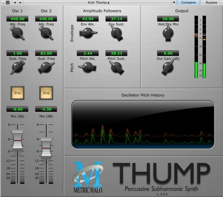 Freeware Friday: Metric Halo Thump