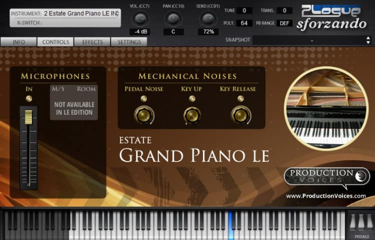 Freeware Friday: Production Voices Estate Grand LE