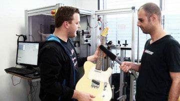 Gitarre pleken