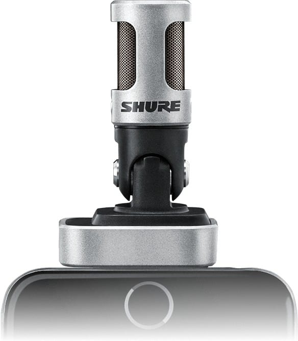 Stereo-Mikrofon für iPhone, iPad & Co. - Shure MV88 Review