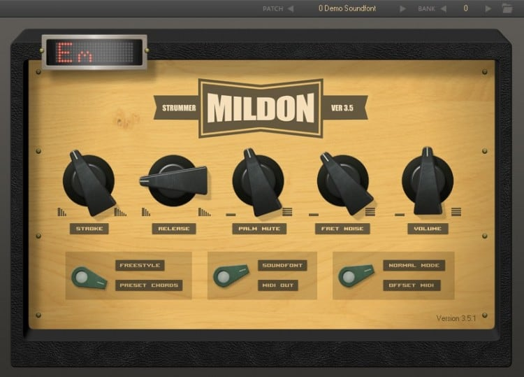 Freeware Friday: Mildon Strummer