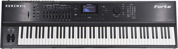 Master Keyboard MIDI Controller - Stagepiano - Kurzweil Forte