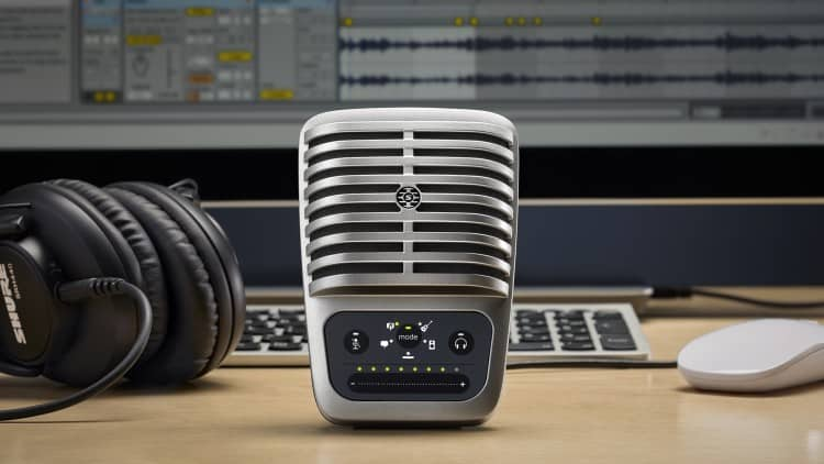 Top-Empfehlung: USB-Mikrofon Shure Motiv MV51