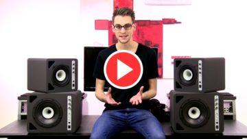 Studio-Lautsprecher (aktiv)