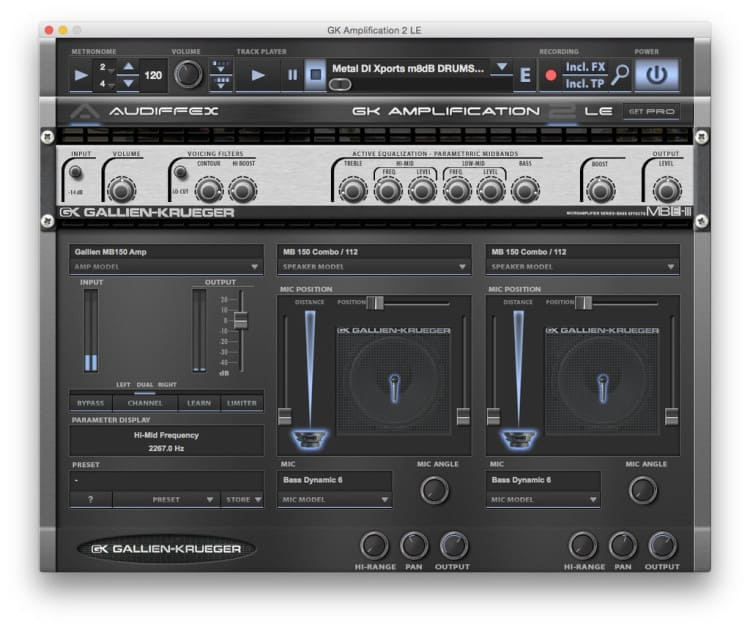 Freeware Friday: Audified GK Amplification 2 LE