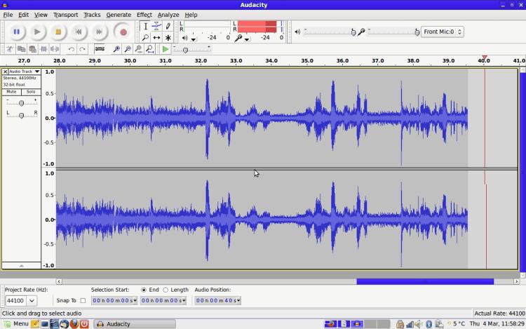 Audacity - Audio-Editor