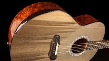 Slashs Gitarre aus 3.000 Jahre altem Gletscherholz