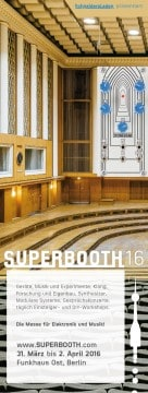 SUPERBOOTH16