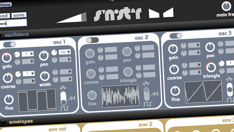 Freeware Friday: Synister - Synth für Klangforscher