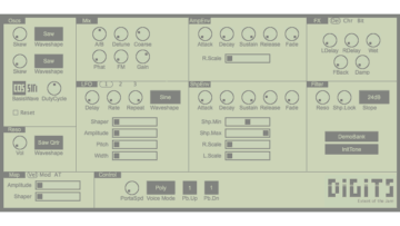Freeware Friday: Extent of the Jam Digits - Phase Distortion Synthesizer