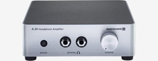 Kopfhörer für Mastering & Mixing – Kopfhörerverstärker beyerdynamic A 20