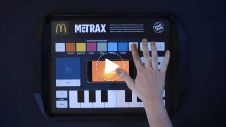 McTrax: Sound Controller von McDonald´s [YouTube Pick des Tages]