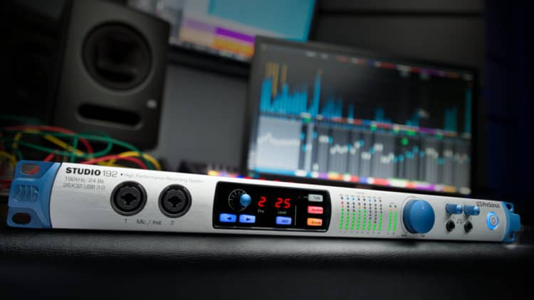 PreSonus Studio 192 Testbericht: Audio Interface mit DAW-Integration