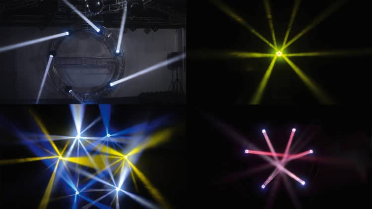 IMG STAGELINE XBeam-410 LED Testbericht