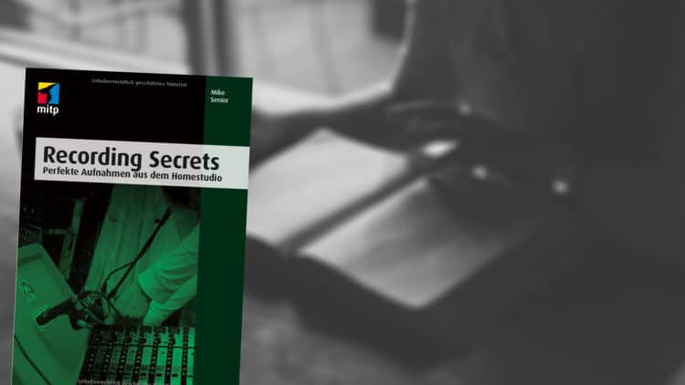 Buchtipp Recording Secrets