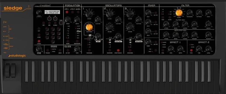 Studiologic Sledge Black Edition