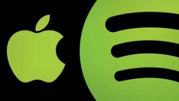 Sollte sich Apple durchsetzen, wäre Spotify sicher nicht erfreut.