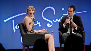 Taylor Swift spricht auf der Google-Veranstaltung »YouTube Presents«