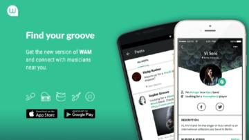 WAM möchte Musiker mit Musikern zusammenbringen.