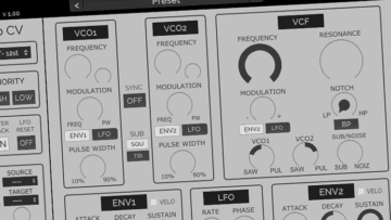 Freeware Friday: HY-Mono - Synthesizer à la Oberheim SEM