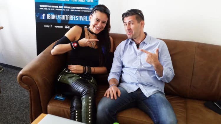 Ibanez Interview