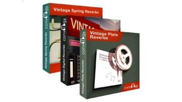 Im Bundle oder einzeln zu haben: Die PreSonus Convology Vintage Reverbs.