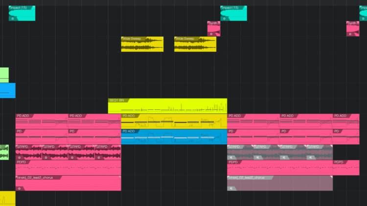 Layering im Song Arrangement