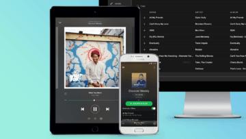 Spotify und Apple: Streit über Anteile an In-App-Käufen.