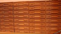 Ausschnitt aus dem Video: Die eindrucksvolle Diskettenlaufwerk-Batterie.