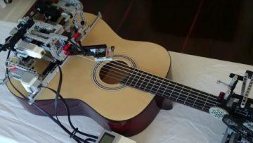 Eine klassische Konzertgitarre dient als instrumentale Grundlage.
