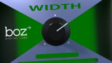 Freeware Friday: Boz Digital Labs Width Knob - Simple Kontrolle der Stereobreite
