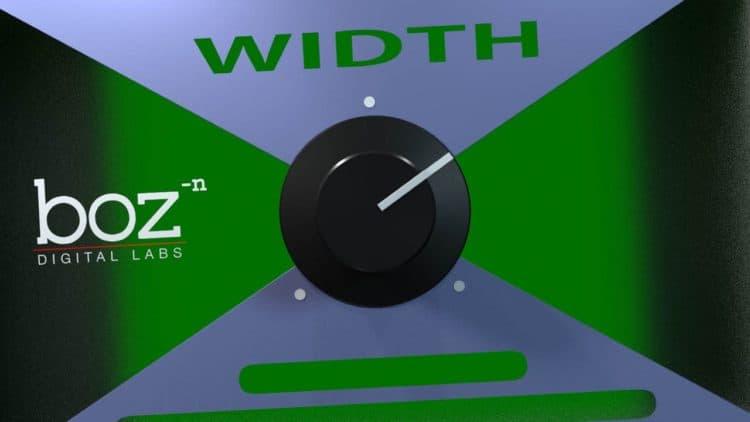 Freeware Friday: Boz Digital Labs Width Knob - Simple Kontrolle der Stereobreite