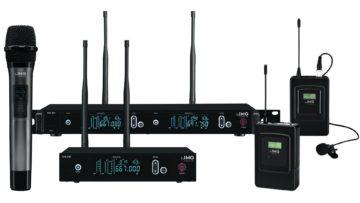 Die IMG Stageline Funkmikrofon-System 700 Familie.