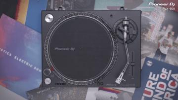 Der Pioneer PLX-500 in schwarzer Ausführung.