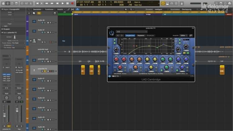 Rap Vocals abmischen - Effekt-Stimme