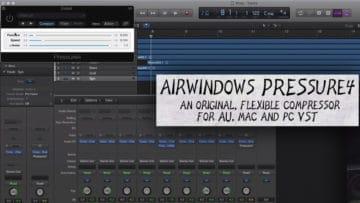 Airwindows Pressure4 für Mac und Windows.