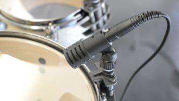 Beyerdynamic TG D35d samt Mikrofonklammer.
