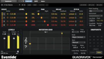 Eventide Quadravox Harmonizer