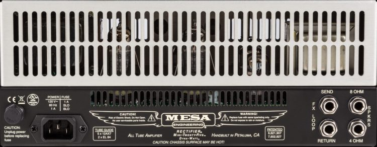 MESA/Boogie Mini-Rectifier Twenty-Five Testbericht