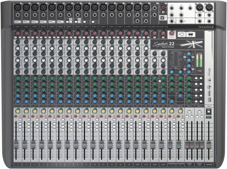 Soundcraft Signature 22 MTK Testbericht: