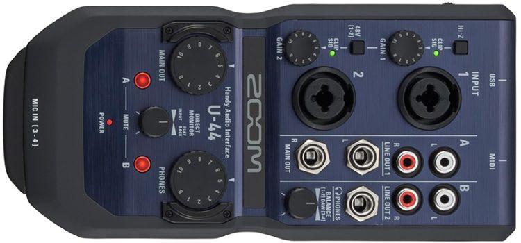 Zoom U-44 Testbericht