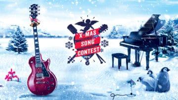 Sei mit deinem Weihnachtssong beim diesjährigen Thomann X-Mas Song Contest dabei.