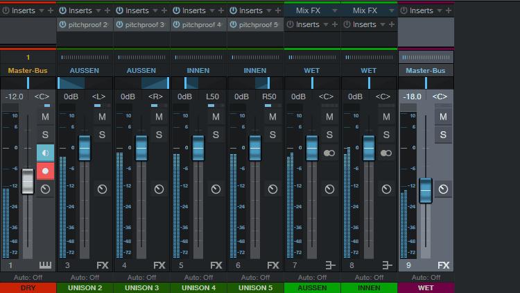 Unison Synth Sound nachbilden – Tutorial