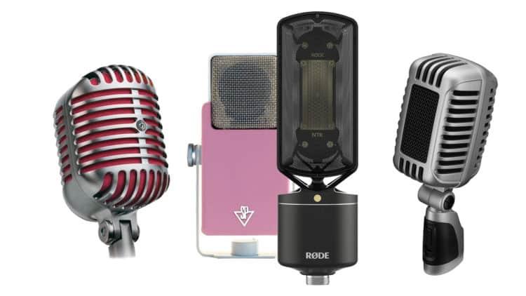 Die 7 schönsten Mikrofone für dein Studio