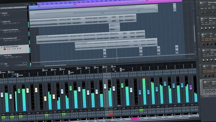 DAW-Software: Cubase 9